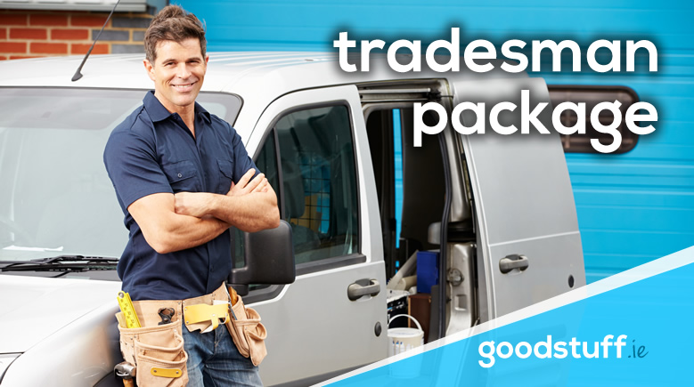 tradesman website package